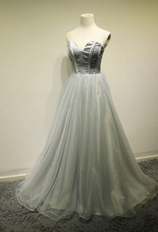 Prom Dress, Satin Dress, Sweetheart Dress, Dress Prom