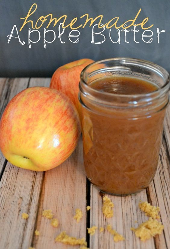 This easy to follow slow cooker recipe makes one of the best homemade apple butters I've ever tried. So delicious and the wonderful aroma gives your home the best fall smell when it's cooking. #slowcookermeals