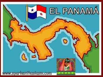 This 31 slide Power Point Show includes many beautiful photos along with up-to-date information about major cities, music, foods, dances, geography, and much more!  The Panama Power Point (en espanol) includes a variety of music and sounds and is sure to motivate your students to want to learn more about the Spanish-speaking countries.