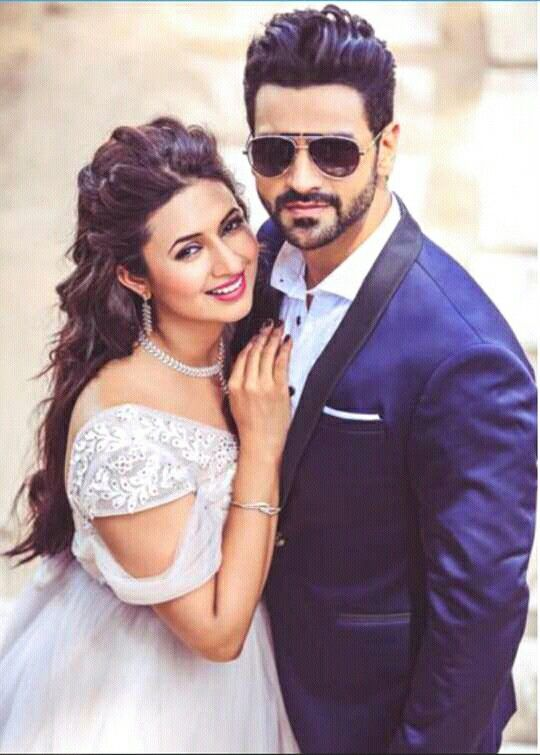 Divyanka tripathi and vivek dahiya's  pre-wedding photoshoot .