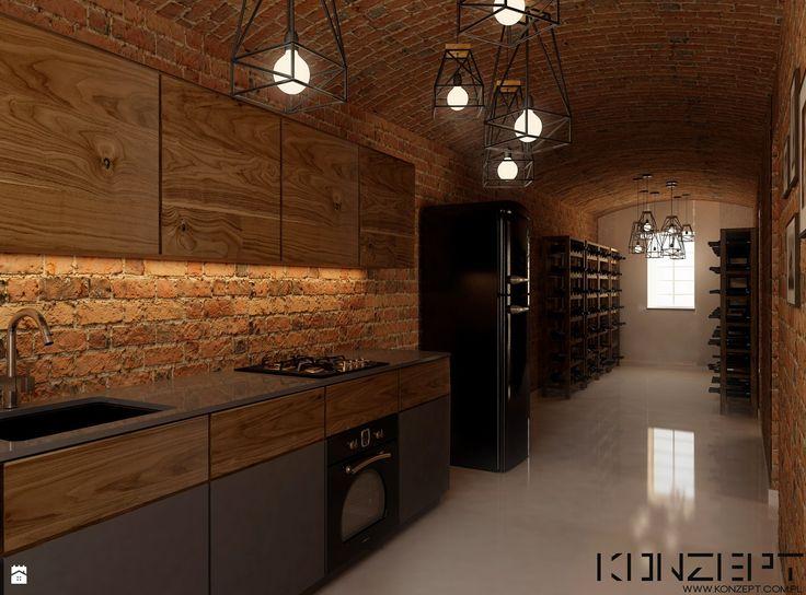 Kuchnia styl Industrialny - zdjęcie od KONZEPT Architekci - Kuchnia - Styl Industrialny - KONZEPT Architekci