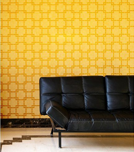 91 best Stencils: Wall or Large Scale images on Pinterest | Wall ...