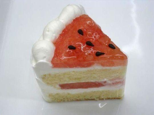 すいかのショートケーキ