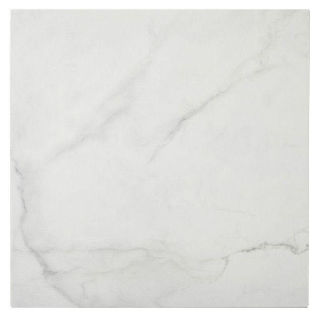 Mosaïque blanc marbre 30 x 30 cm Iceberg - CASTORAMA