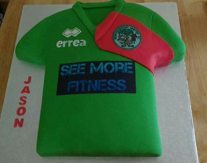 Huntingdon United FC cake