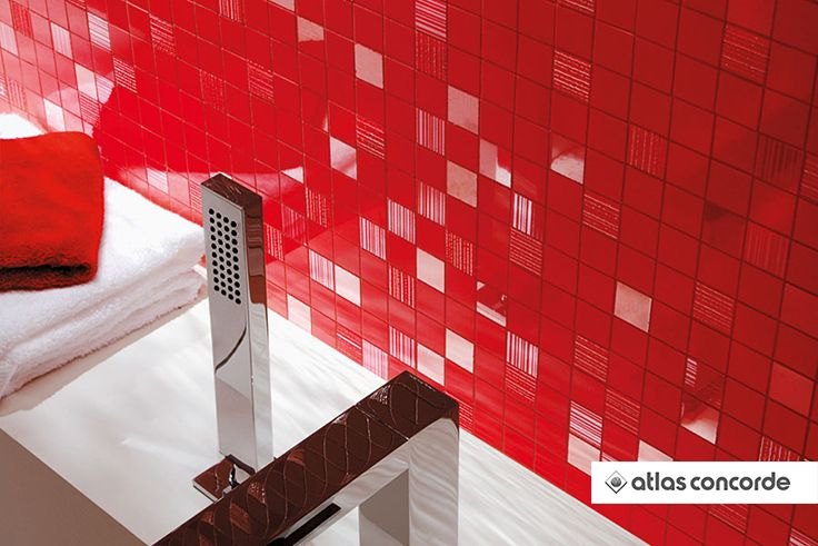 #ADORE Flame Mosaic | #AtlasConcorde | #Tiles | #Ceramic