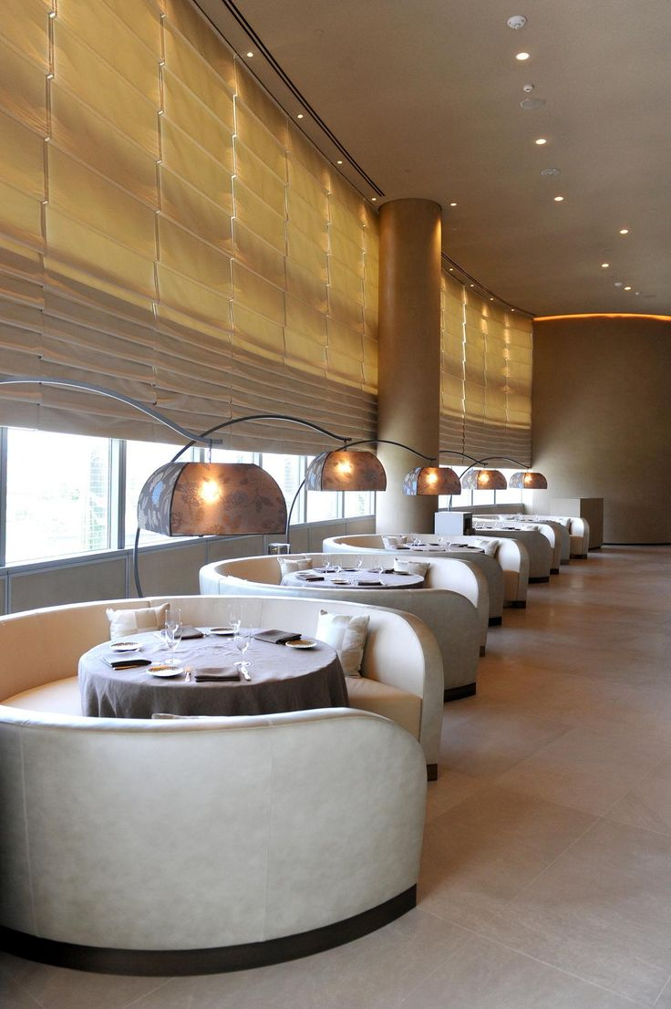 Luxury restaurant in Dubai