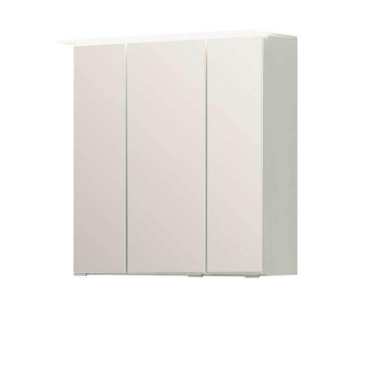 3D Spiegelschrank in Weiß 3 Türen Jetzt bestellen unter: https://moebel.ladendirekt.de/bad/badmoebel/spiegelschraenke/?uid=97d1a08b-7599-581b-9f80-ccd96ddbf35a&utm_source=pinterest&utm_medium=pin&utm_campaign=boards #badezimmerkommode #bad #beistellschrank #spiegelschrank #spiegelschraenke #badschrank #badmoebel #badspiegelschrank #spiegel #badeschrank #lichtspiegelschrank #badezimmerspiegelschrank #badezimmer