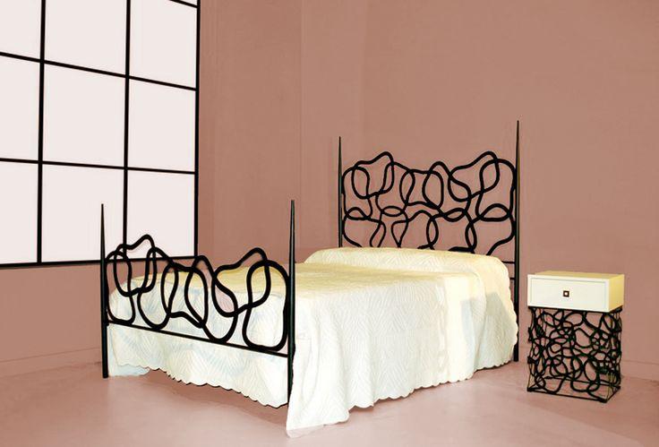 15 besten elegante metallbetten bilder auf pinterest for Wohndesign dresden