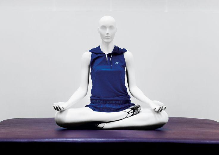 Sports Collection by More Mannequins #FemaleMannequin #style #shopwindow #visualmerchandising #windowdisplay #vm #retail #sport #yoga