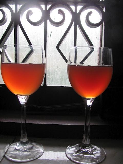 Homemade Grape Wine