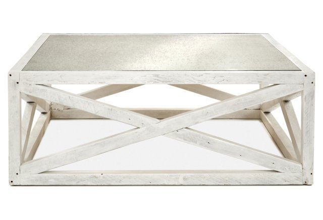 Manning 48 Square Coffee Table White why does it have to be so