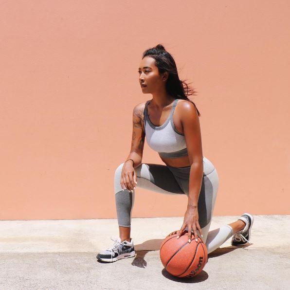 🏀💥@eh_active wears new Heather collection launching soon
