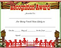 Image result for country and western award certificate
