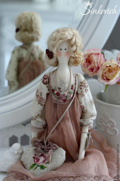 Купить Шерон - тильда, интерьерная кукла, кукла ручной работы, подарок девушке ♡