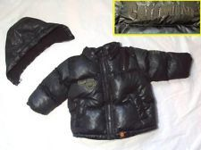 BOY'S CATIMINI EURO BOUTIQUE REMOVABLE HOOD FRENCH PUFFER PARKER JACKET COAT 6M tweet @MODE AND  COOKIES