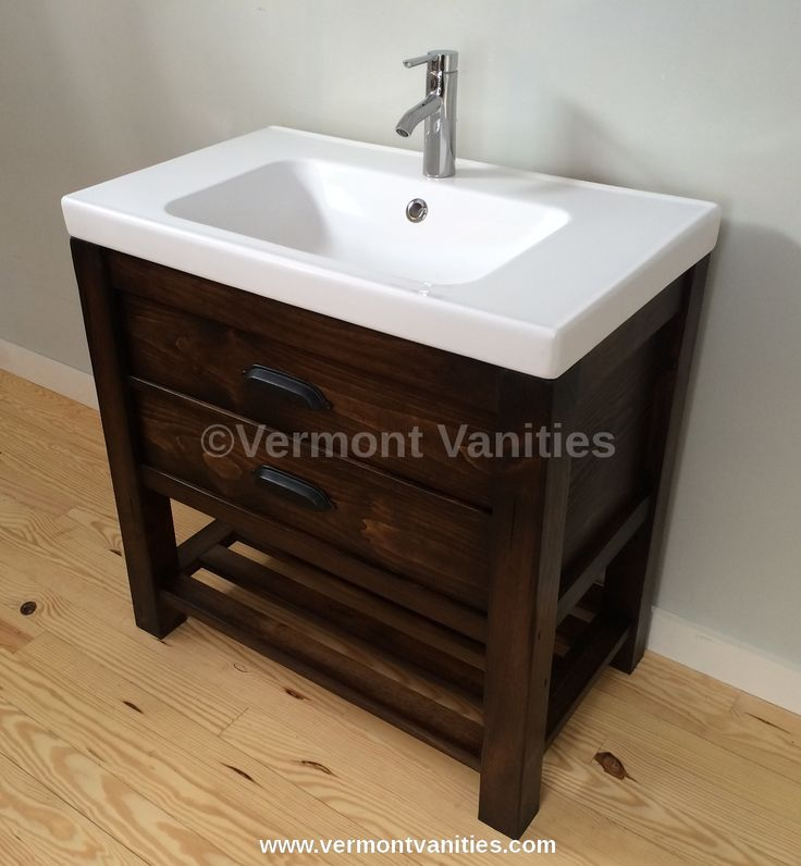 Custom Built U0027Fairfaxu0027 Vanity From Vermont Vanities With A Hearty 2.5