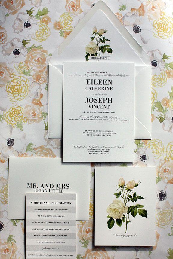 38 best Modern Wedding Invitations images on Pinterest