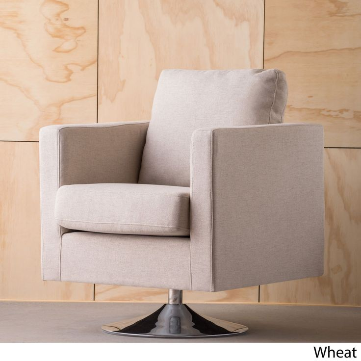Holden Modern Swivel Club Chair by Christopher Knight Home