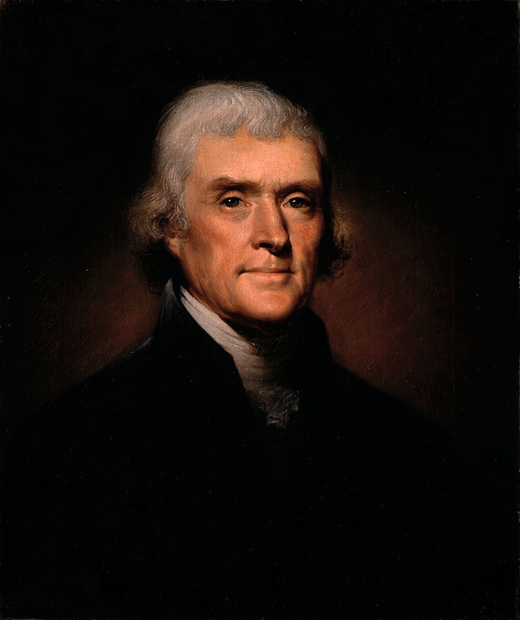 Thomas Jefferson, a spokesman for democracy, was an American Founding Father, the principal author of the Declaration of Independence (1776), and the third President of the United States (1801–1809). Learn more: http://go.wh.gov/LSREBm