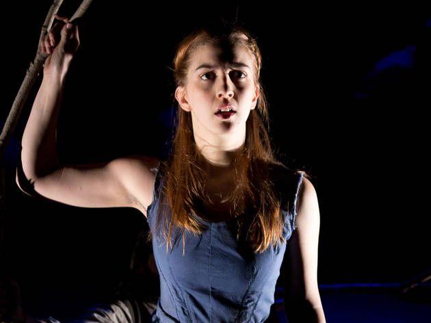Footlight lighting inspiration The Woodsman (play)