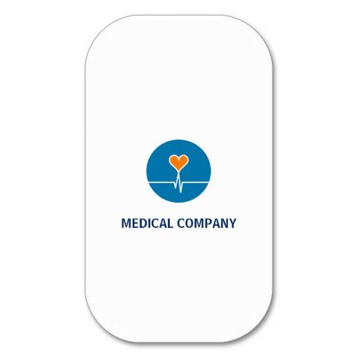 Tarjeta comercial Mod. Healthcuore White