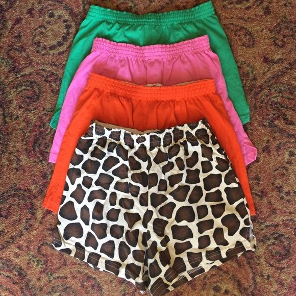 ❗️️SALE❗️Soffee shorts size M Never worn!  Please keep offer reasonable with my listing price! Bought together or separate! Soffe Shorts