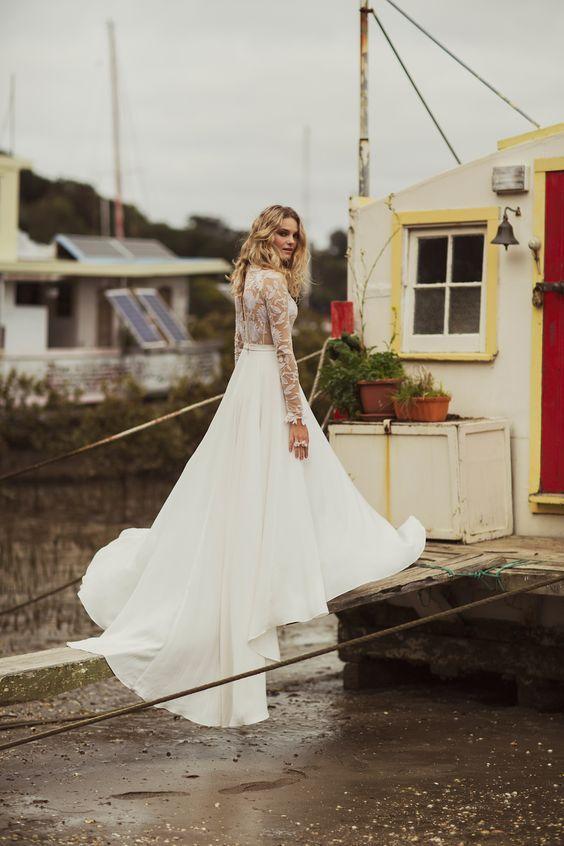 Roxy wedding gown by Rue De Seine - Lovely Bride Charleston SC bridal stockist