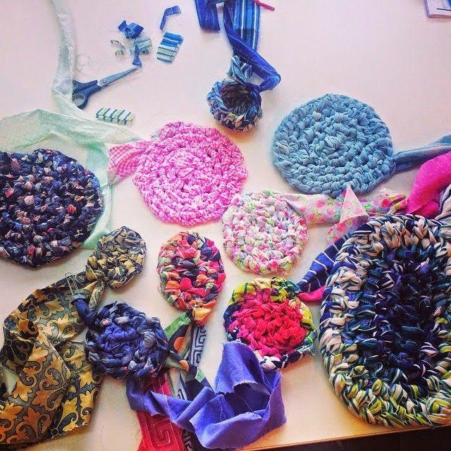 edward and lilly: Rag Rug workshop
