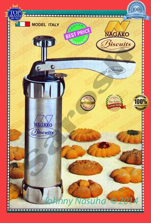 Biscuit Maker / Cookies Maker / Icing / Press Cookies / Kue Kering/NAGAKO - Original