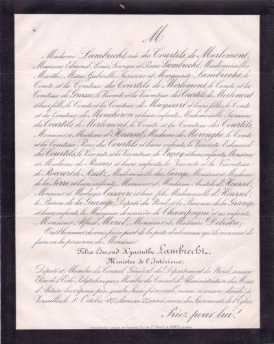 Felix-Edmond-Yacinthe-Lambrecht-1871-Ministre-de-l-039-Interieur-Mines-d-039-Anzin-Nord