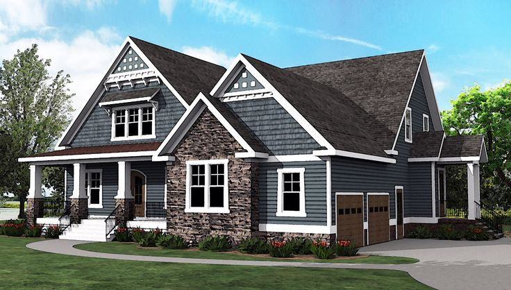 17 Best Images About Craftsman Homes Exteriors On Pinterest