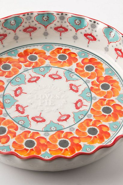 Poppy Ring Pie Pan - anthropologie.com #anthrofave