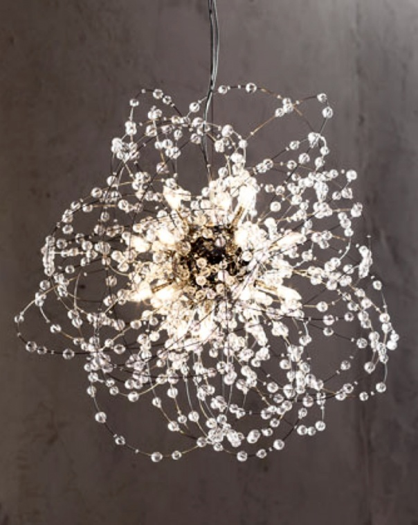 comet lighting. comet pendant chandelier. if i could figure out how to diy this, totally lighting