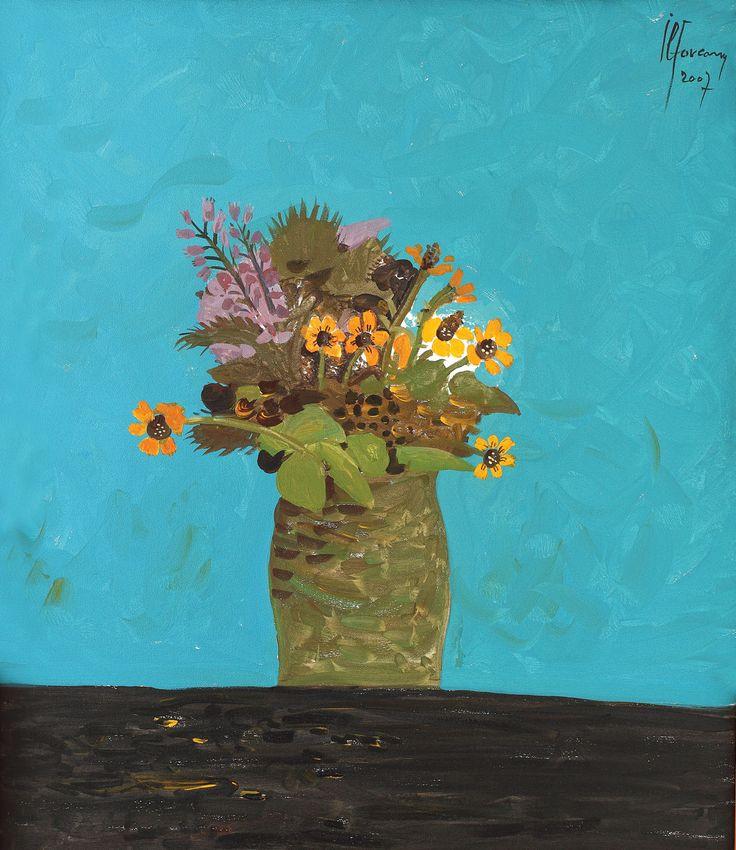 Sorin Ilfoveanu, flowers, vase
