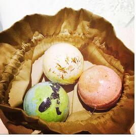 1 st Organische Badzout Bommen Huidverzorging Olie Zeezout Handgemaakte bad Bommen Gift Set Pack van Body Cleaner Rose Rood Geur
