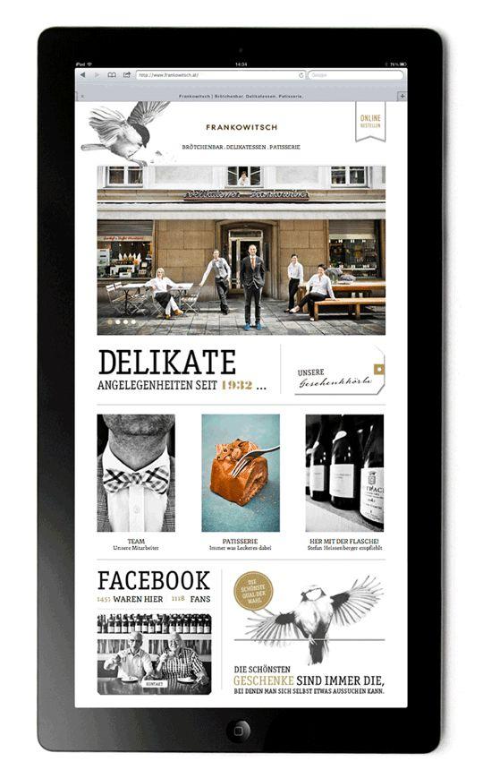 Frankowitsch - Digital Branding by moodley brand identity , via Behance
