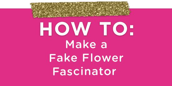 How to Make a Sparkly Floral Fascinator (3) easy instructions to make the bridesmaids fascinators