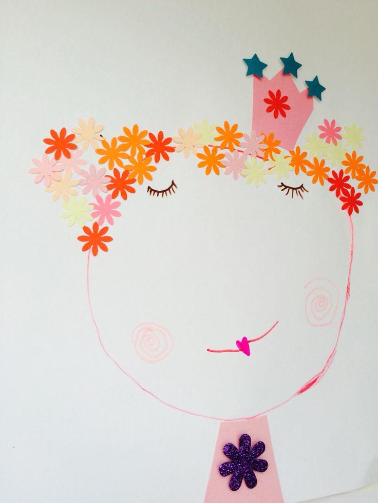 Flower head portrait