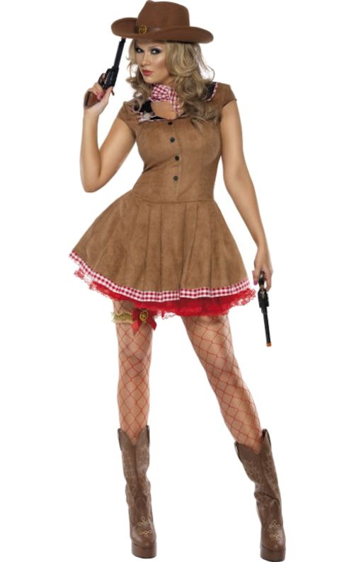 Fever Wild West Cowgirl Costume                                                                                                                                                                                 More