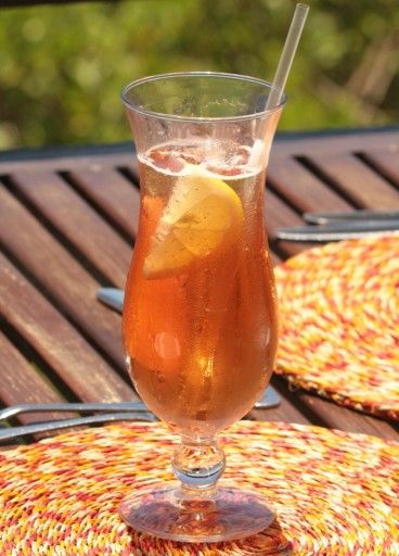 This is how you make the famous Steelworks Cocktail. Ingredients: 5 drops Angostura Bitters; Dash of freshly squeezed lemon Juice; Double Kola Tonic; Soda Water; Ginger Ale; Lemon slices; Ice Method: Fill big glass 3/4 with ice, add Bitters and squeeze of Lemon juice. Add Cola Tonic. Fill with soda to level of ice cubes. Top up with Ginger Ale. Add slices of fresh Lemon and straw.