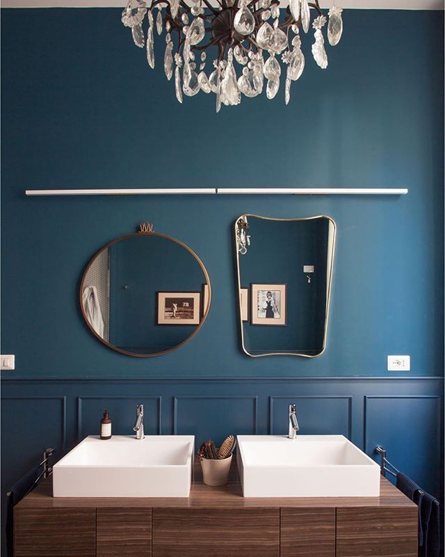 17++ Salle de bain bleu petrole et bois ideas