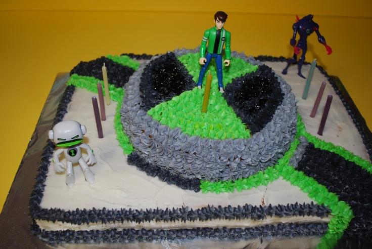 Zachary's 6th birthday - Ben 10 Cake