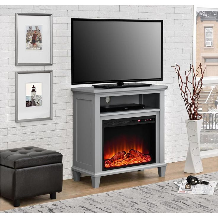 Ellington Electric Fireplace 32 in. TV Stand in