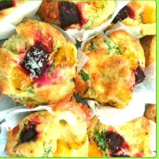 Recipe beetroot muffin by thermo-envy - Recipe of category Baking - savoury
