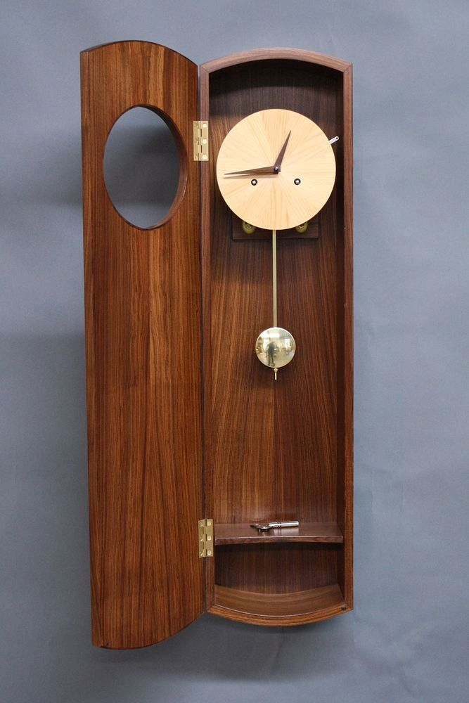 Pin On Wooden Clock
