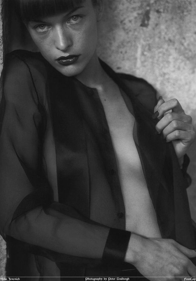 Mila by Peter Lindbergh