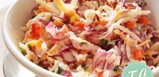 Σαλάτα Coleslaw με Μήλο και Ραπανάκι