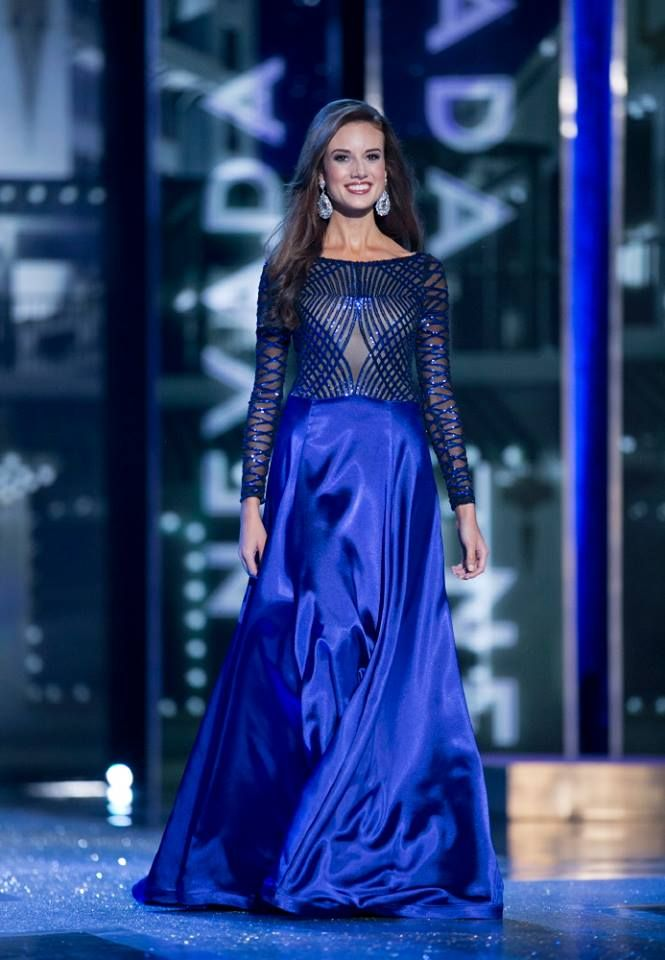 Miss Nevada 2015 Evening Gown: HIT or MISS | http://thepageantplanet.com/miss-nevada-2015-evening-gown-hit-or-miss/