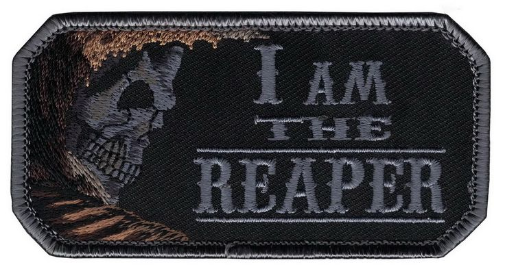 - Embroidered patch - 3.75 inches wide - Velcro hook backing - Made and designed by Titan one - UPC: 0748388429319